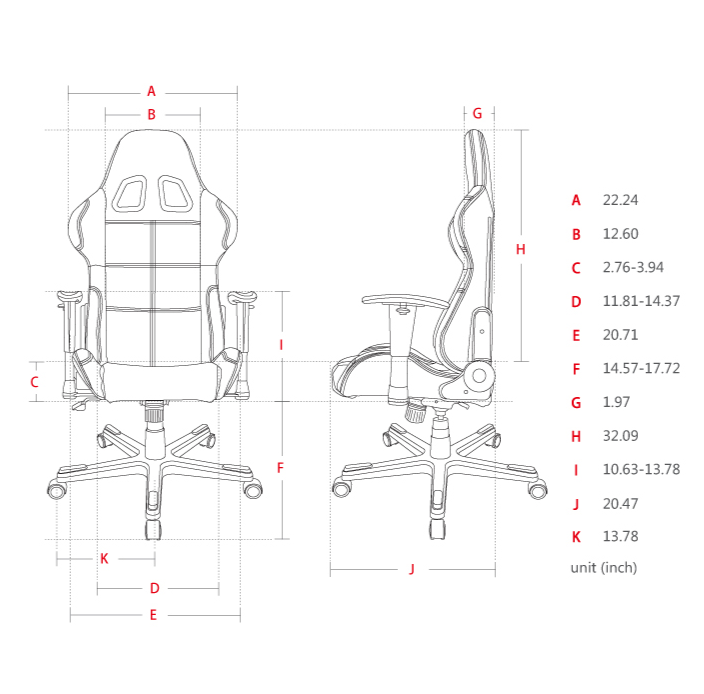 DXRACER Formula Series OH/FD01/NR Gaming Chair [PREORDER EARLY JUNE]