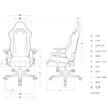 Image of DXRACER Racing Series OH/RE0/NB Blue Gaming Chair