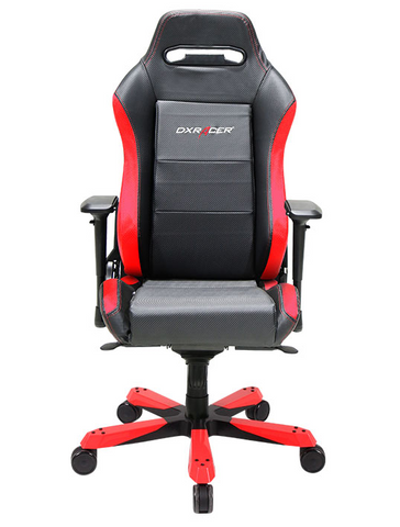DXRacer Iron Series OH/IB88/NR Black and Red Gaming Chair