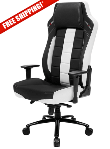 Terrific Dxracer Boss Series Oh Be120 Nw White And Black Gaming Chair Pdpeps Interior Chair Design Pdpepsorg