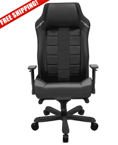 DXRacer Boss Series OH/BE120/N  Black Gaming Chair