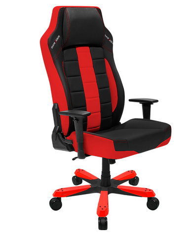 DXRacer Boss Series OH/BE120/NR Red and Black Gaming Chair