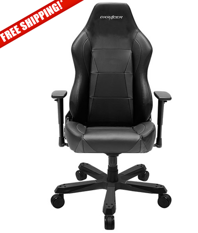 DXRacer OH/WY0/N Wide Series Black Gaming Chair