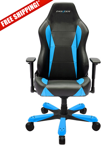 DXRacer OH/WY0/NB Wide Series Blue Gaming Chair