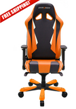DXRacer Sentinel OH/SK28/NO Orange and Black Gaming Chair