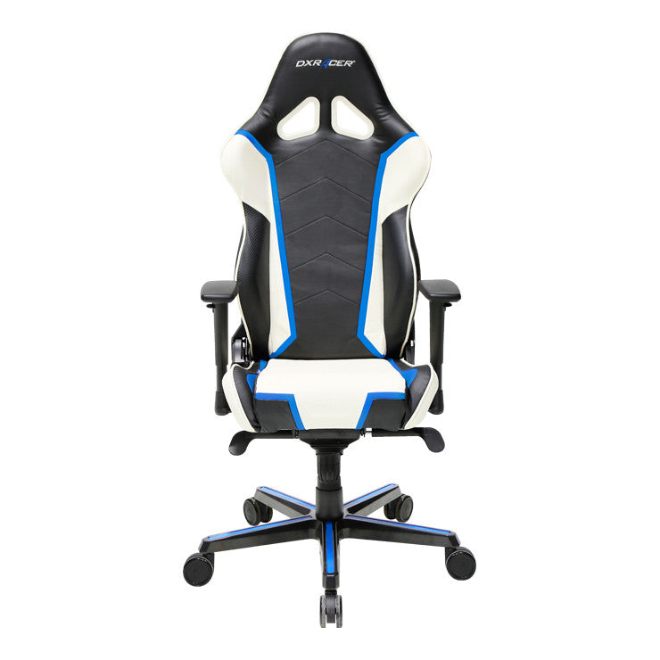 Magnificent Dxracer Racing Series Oh Rh110 Nwb Blue And White Gaming Chair Pdpeps Interior Chair Design Pdpepsorg