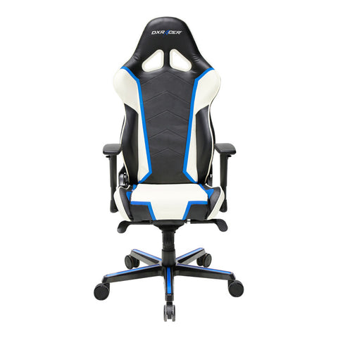 DXRacer Racing Series OH/RH110/NWB Blue and White Gaming Chair