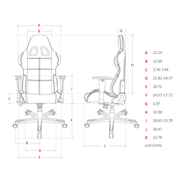 DXRACER Formula Series OH/FD99/N Gaming Chair