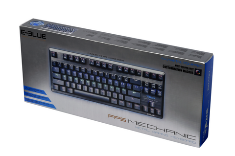 E-Blue Mazer FPS Gaming Keyboard