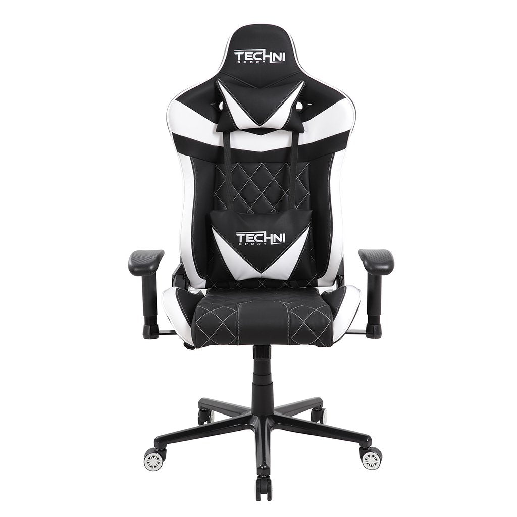 Techni Sport TSXL1 White Gaming Chair
