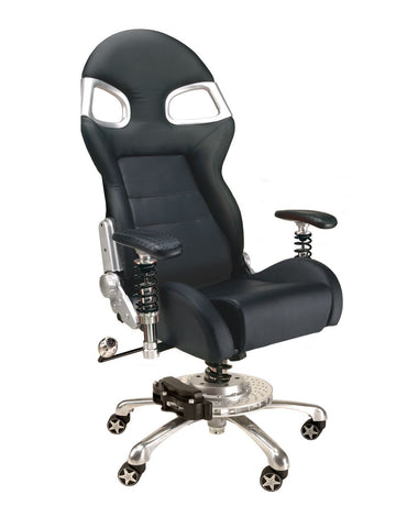 Pitstop XLE Office Chair - Black