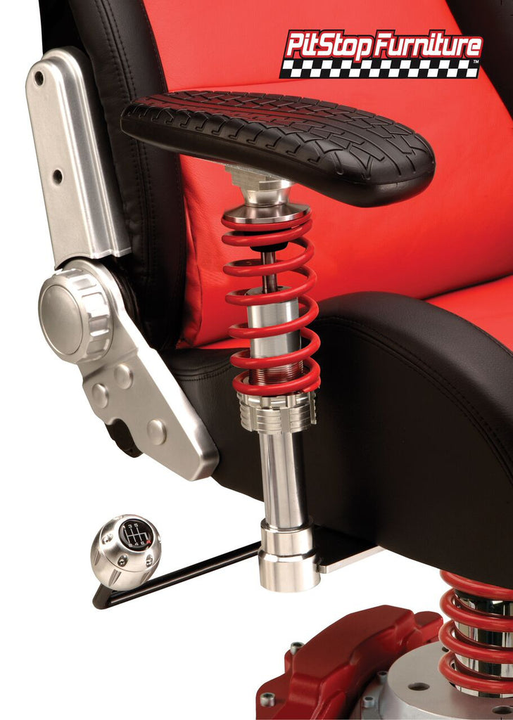 Pitstop XLE Office Chair - RED