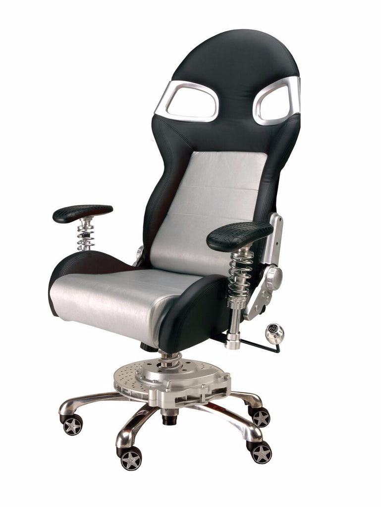pitstop xle office chair silver champs chairs
