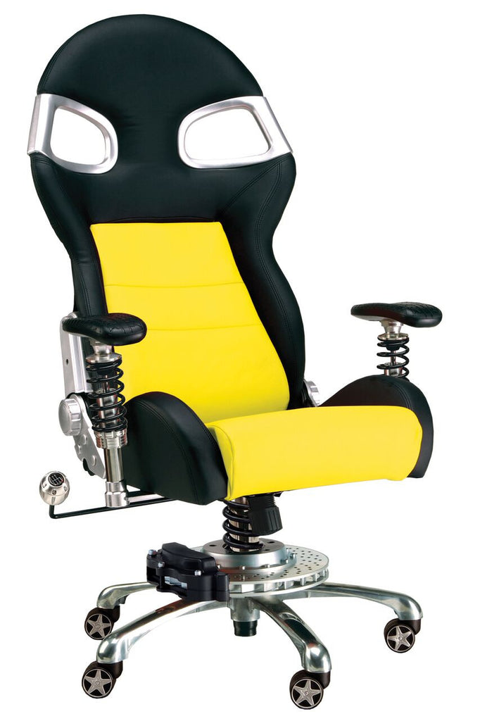 Pitstop XLE Office Chair -Yellow