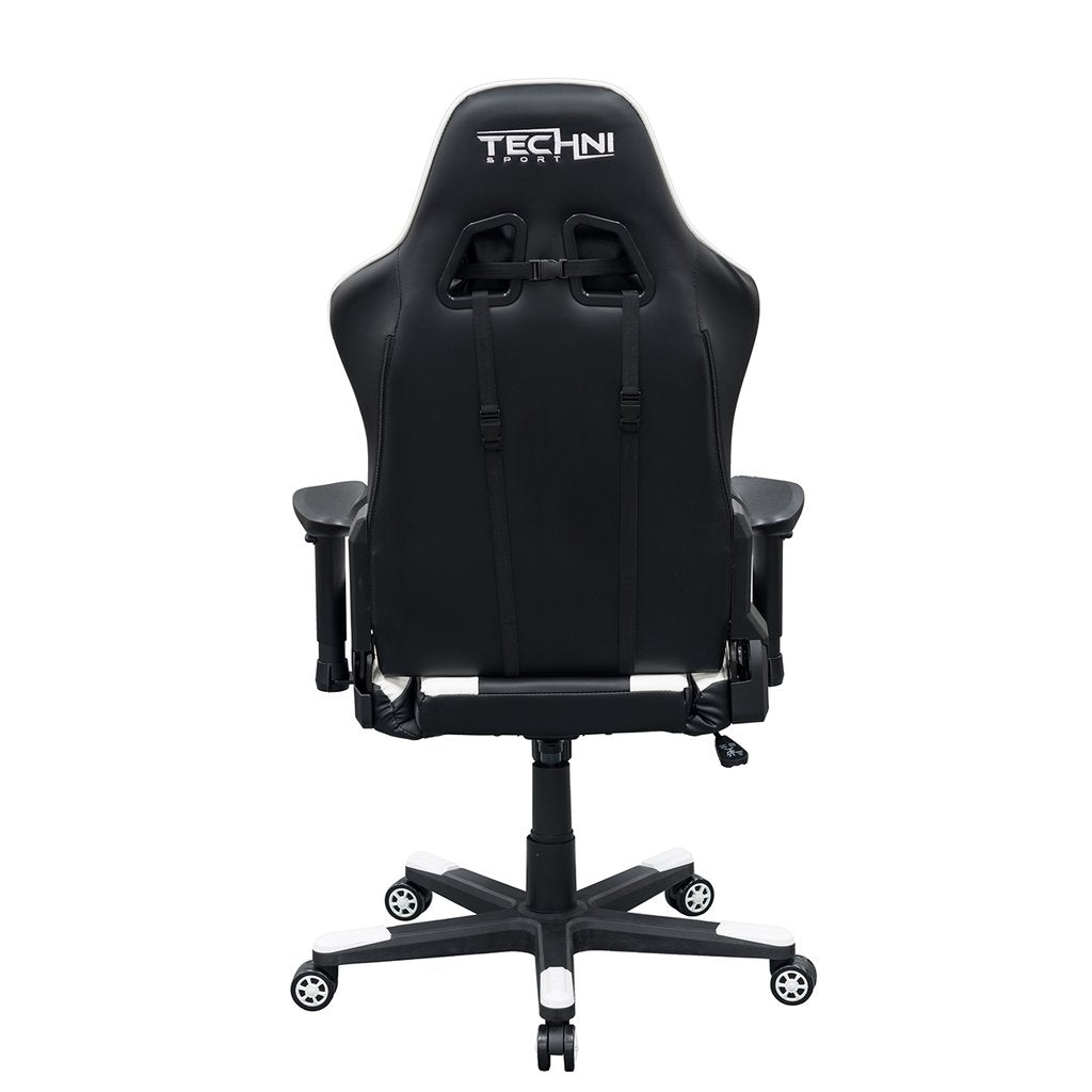 Techni Sport TS46 White Gaming Chair