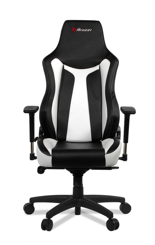 Arozzi Vernazza Racing Style Ergonomic White Gaming Chair