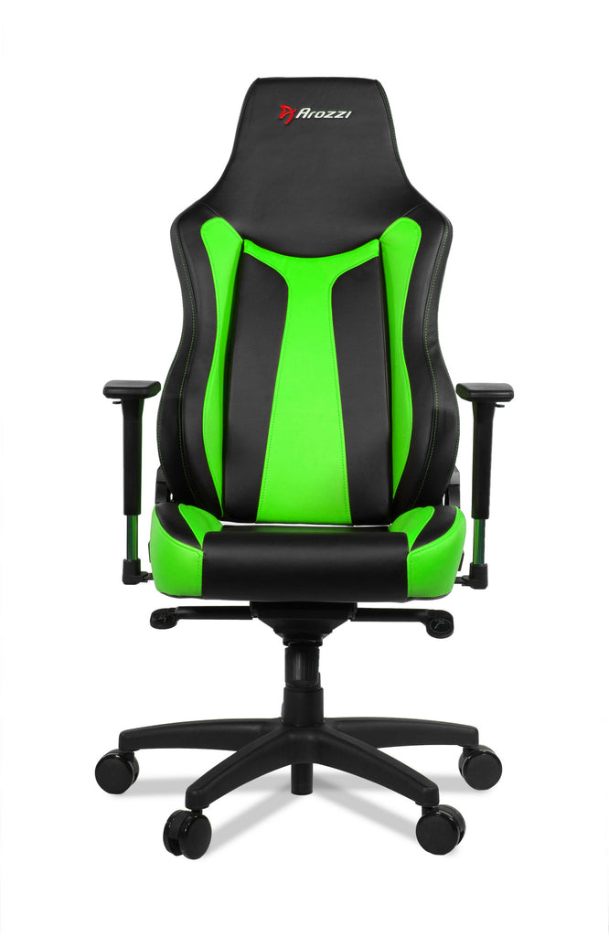 Arozzi Vernazza Racing Style Ergonomic Green Gaming Chair