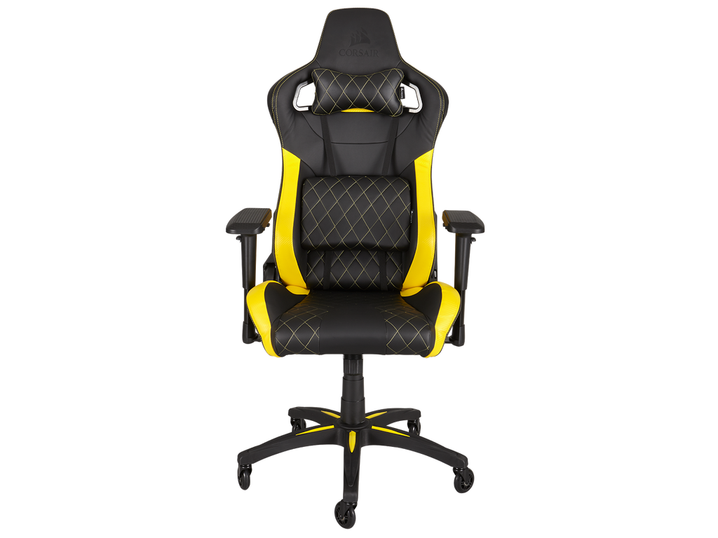 Corsair T1 Race Yellow Gaming Chair