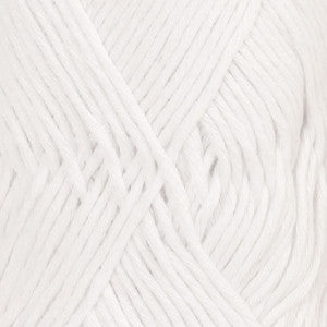 Cotton Light - 02 - Hvid - Uni Colour