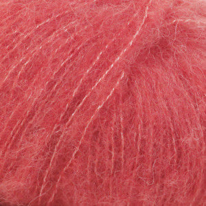 Brushed Alpaca Silk - 06 - Koral - Uni Colour