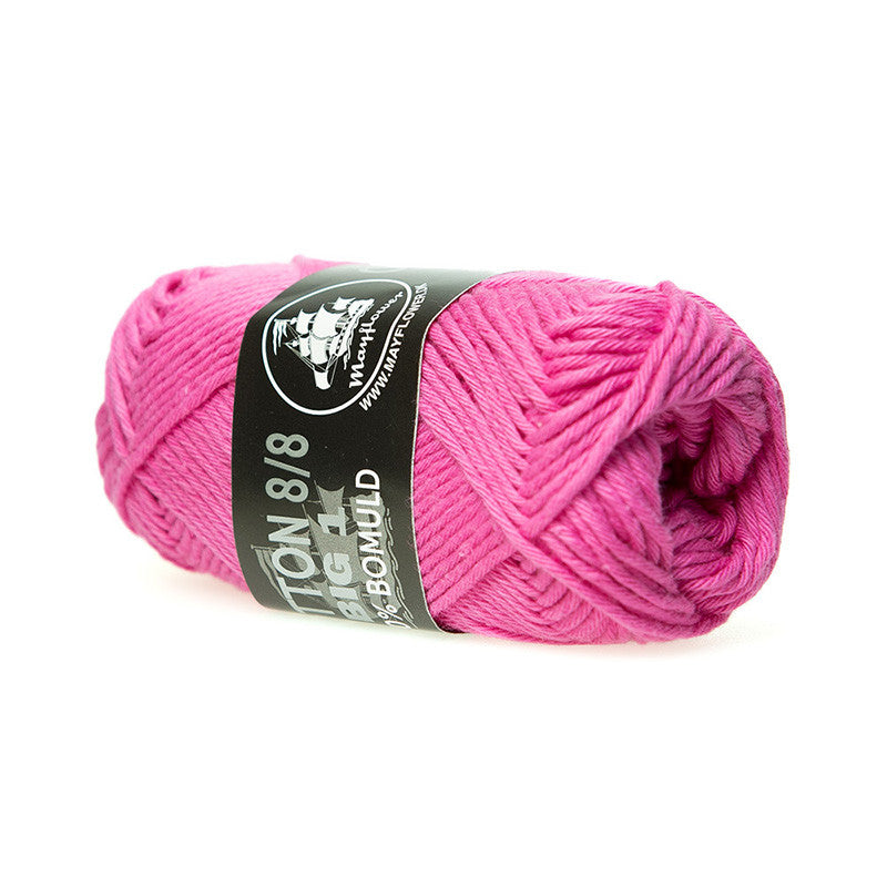 Cotton 8/8 Big 1 - Mayflower - 610 - Pink