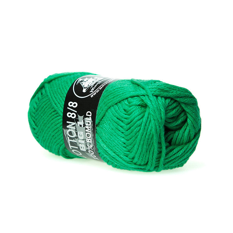 Cotton 8/8 Big 1 - Mayflower - 627 - Grøn