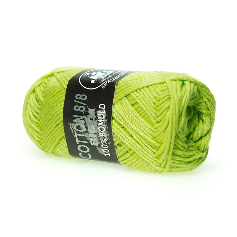 Cotton 8/8 Big 1 - Mayflower - 646 - Lime