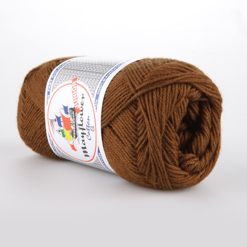 Cotton 8/4 Junior - Mayflower - 1432 - Brun
