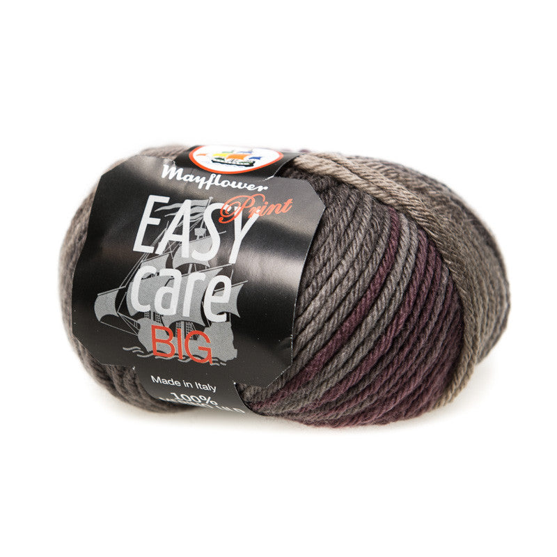 Easy Care Big - Mayflower - 143 - Grå/Brun Print