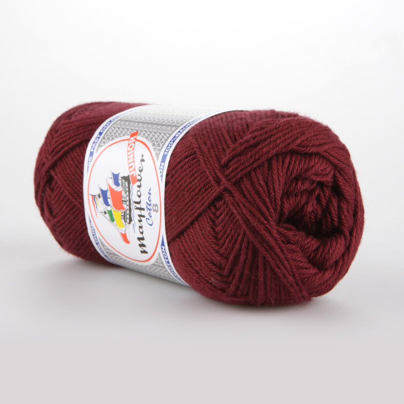 Cotton 8/4 Junior - Mayflower - 1454 - Bordeaux