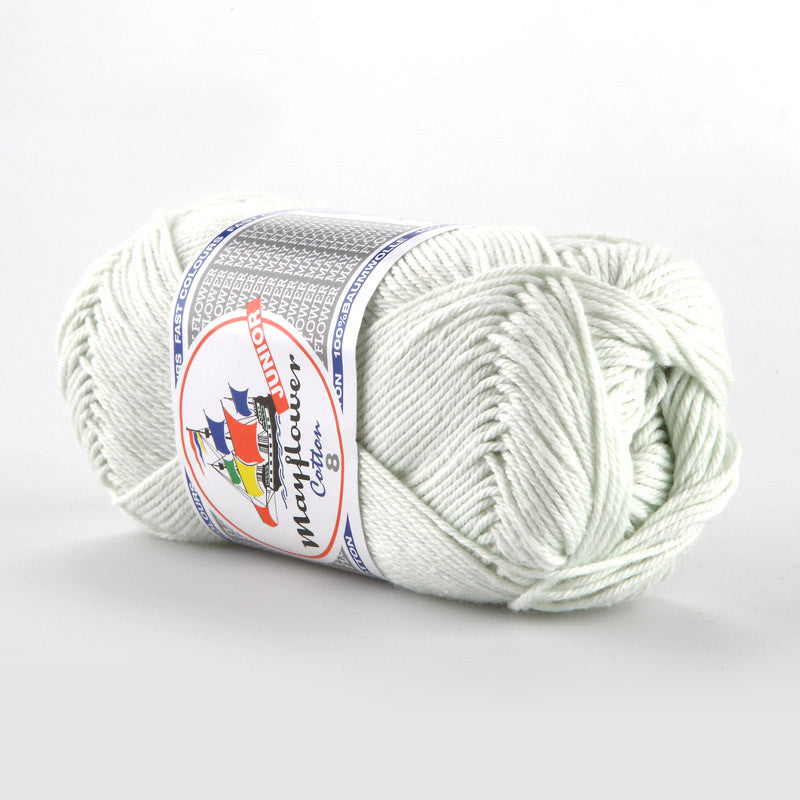 Cotton 8/4 Junior - Mayflower - 1486 - Lys Mintgrøn