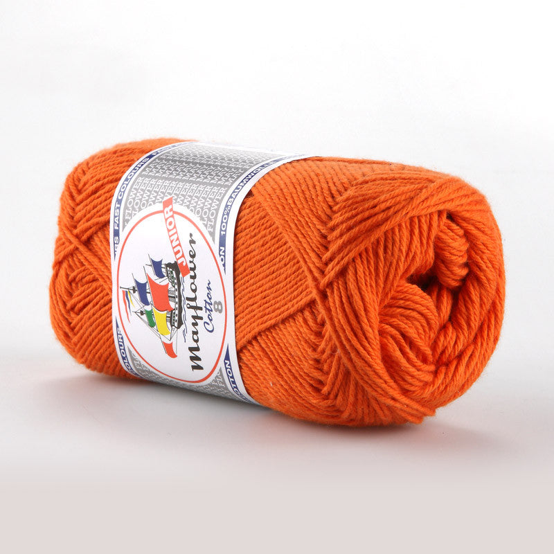 Cotton 8/4 Junior - Mayflower - 1494 - Mørk Orange