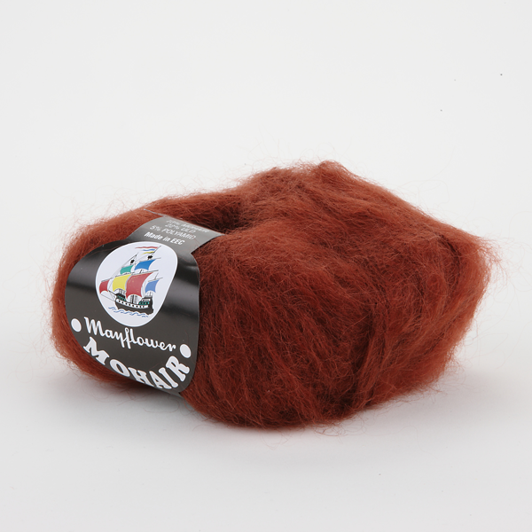 Mohair - Mayflower - 24941 - Rødbrun