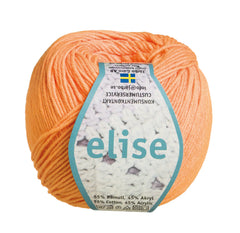 Elise - Järbo Garn - 69208 - Orange/Fersken