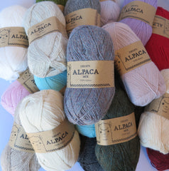 Alpaca - 8105 - Isblå - Uni Colour