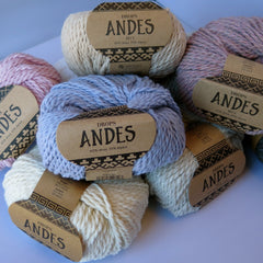 Andes - 6990 - Marineblå - Uni Colour