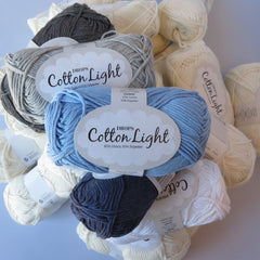 Cotton Light - 30 - Mørkegrå - Uni Colour