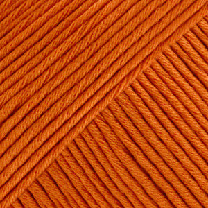 Muskat - 49 - Mørk Orange - Uni Colour