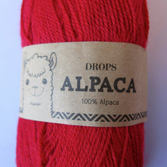 Alpaca - 3620 - Rød - Uni Colour