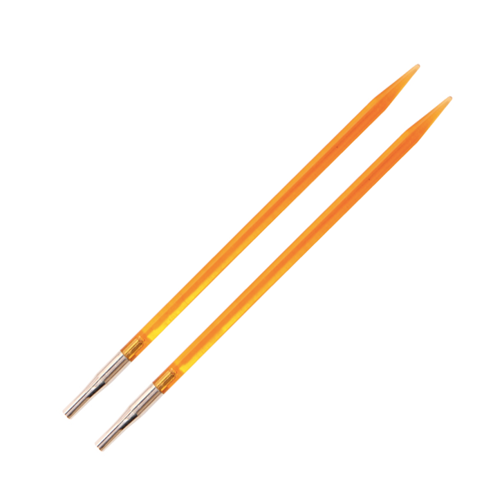KnitPro Trendz Udskiftelige Rundpinde - 4.00mm - Orange