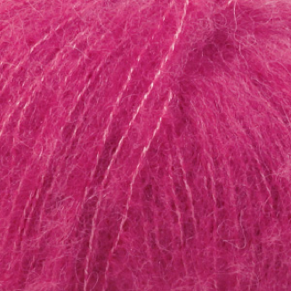 Brushed Alpaca Silk - 18 - Cerise - Uni Colour
