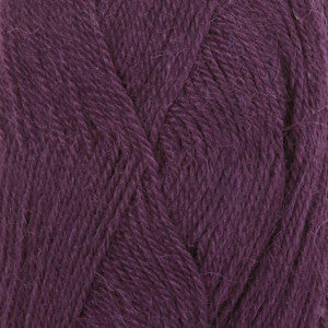 Alpaca Uni Colour - 4400 - Dark Purple