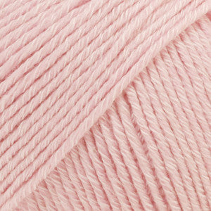 Cotton Merino Uni Colour - 05 - Powder Pink