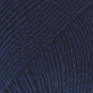 Cotton Merino Uni Colour - 08 - Navy