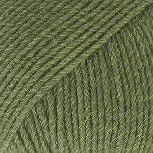Cotton Merino Uni Colour - 11 - Forest Green