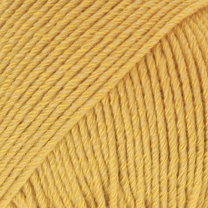 Cotton Merino Uni Colour - 15 - Mustard