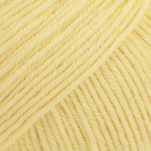 Cotton Merino Uni Colour - 17 - Vanilla