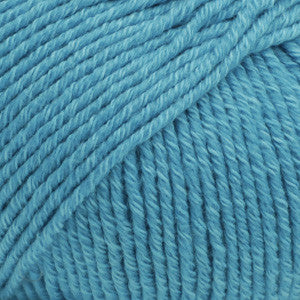 Cotton Merino Uni Colour - 24 - Turquoise