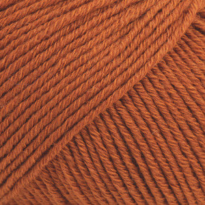 Cotton Merino Uni Colour - 25 - Rust