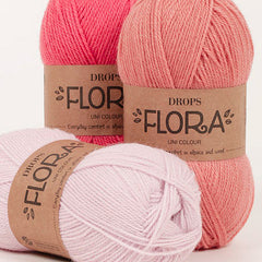 Flora - 06 - Sort - Unicolour